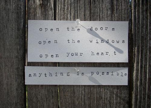 openthedoors